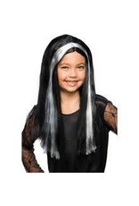 Child Witch Wig with Streaks