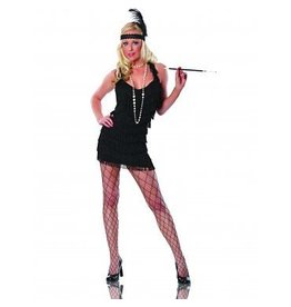 Women's Costume Lindy & Lace Flapper Black
