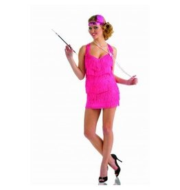 Women's Costume Lindy & Lace Flapper Pink