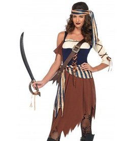 Women's Costume Caribbean Castaway