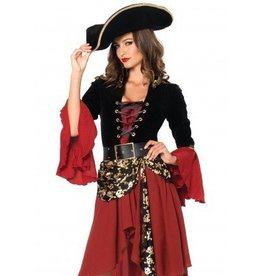 Women's Costume Cruel Seas Captain