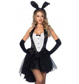 Women's Costume Tux & Tails Bunny