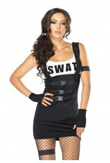 Women's Costume Sultry SWAT Officer