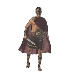 Men's Costume Spartan Warrior Large