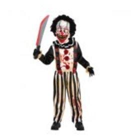 Child Slasher Clown Medium (8-10) Costume