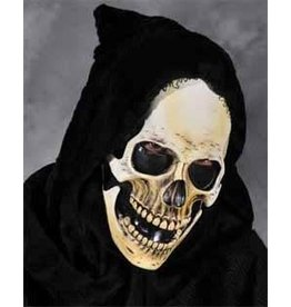 Hooded Grim Skull  Mask