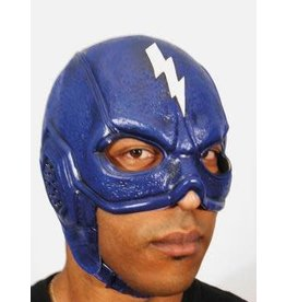 Blue Superhero Mask