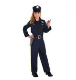 Children's Costume Police Officer - Small (4-6)