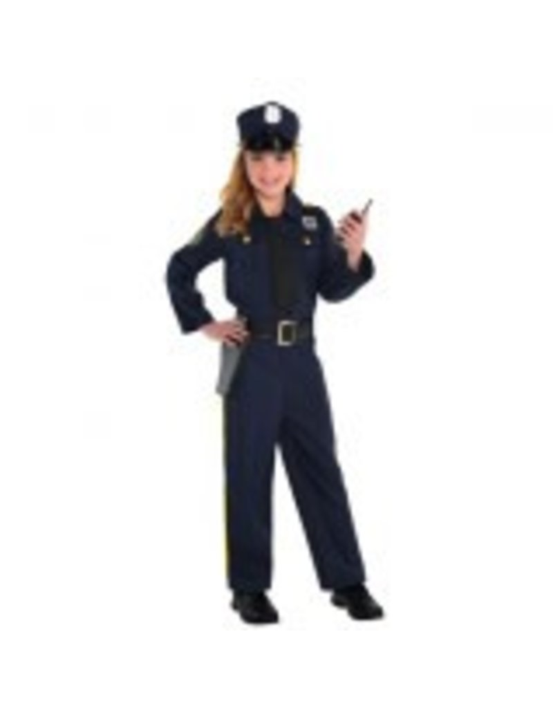 Child Police Officer - Small (4-6)