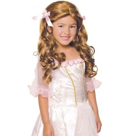 Child Wig Gracious Princess Brown