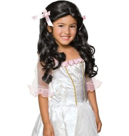 Child Wig Gracious Princess Black