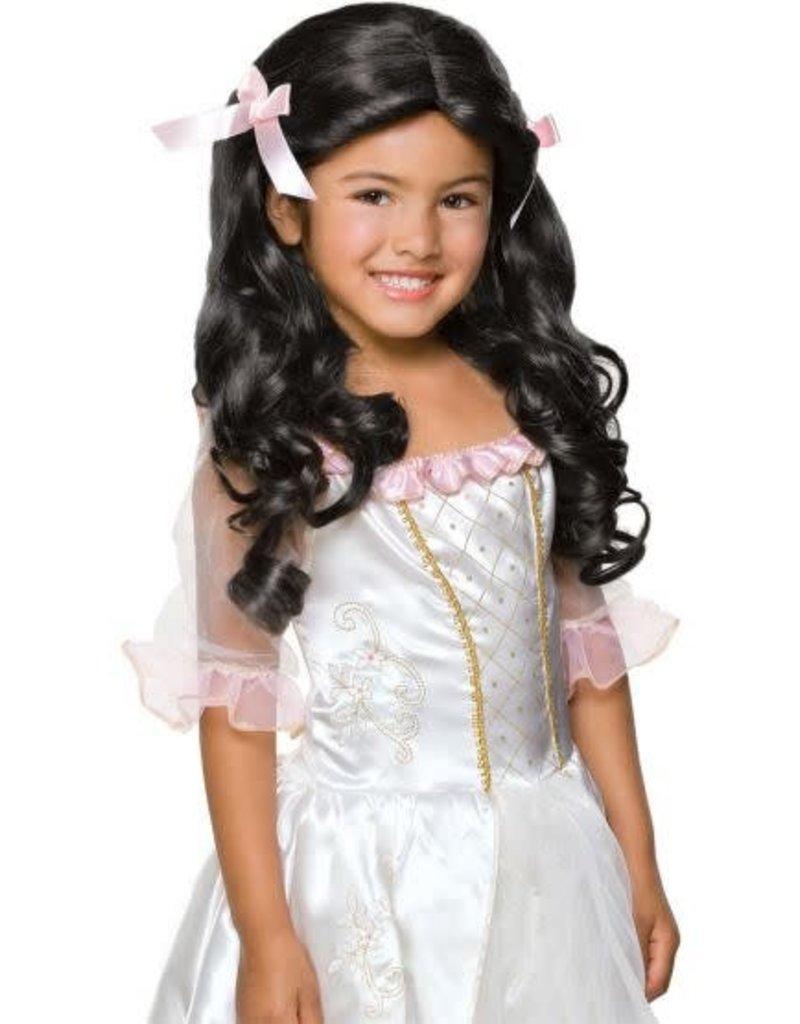Child Wig Gracious Princess Black