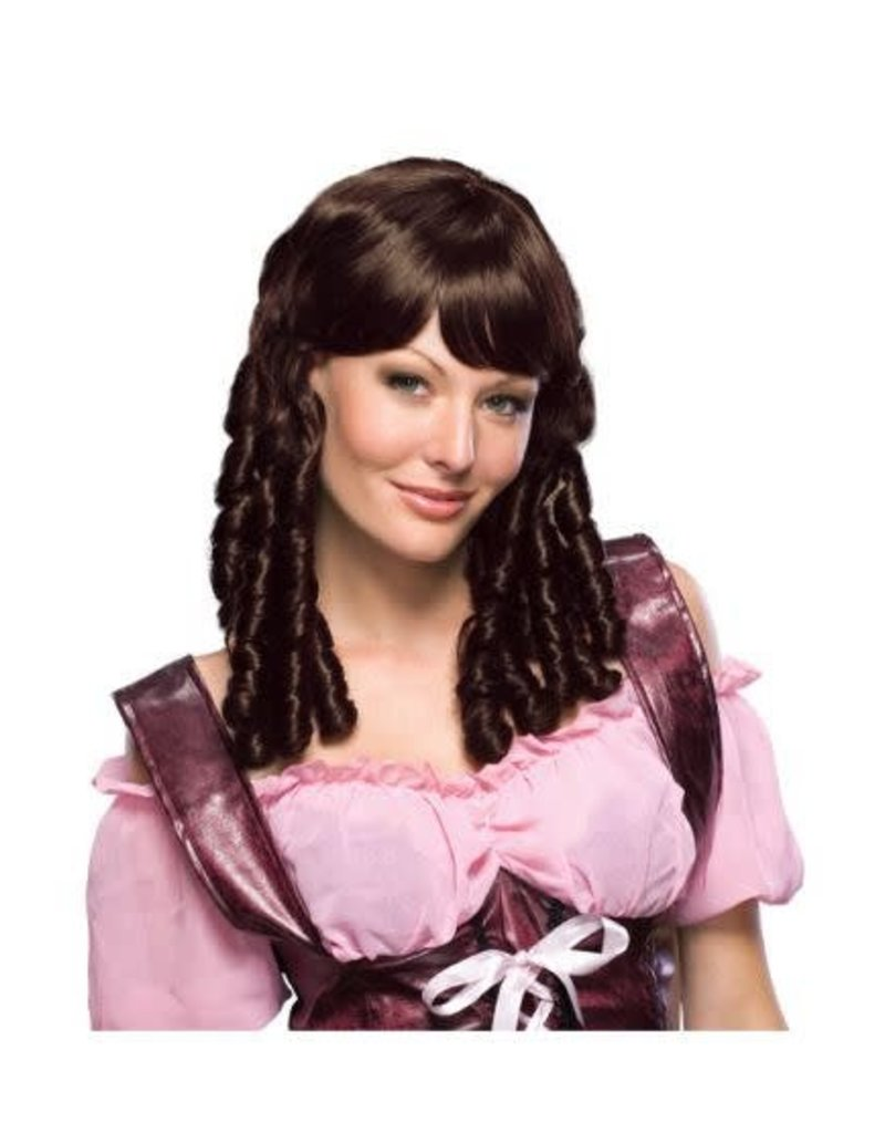 Baby Doll Brown Wig