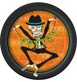 "Day of the Dead 7"" Plate (8)"
