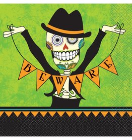 Day of the Dead Lunch Napkins (16)