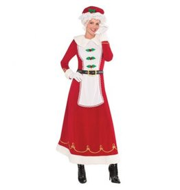 Mrs. Claus Deluxe - Medium (6-8)