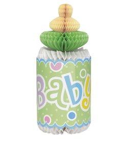 Polka Dot Baby Shower Bottle
