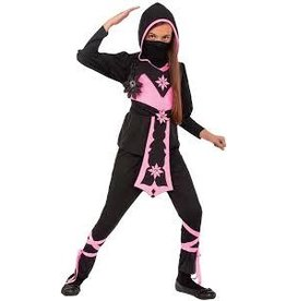 Children's Costume Pink Crystal Ninja