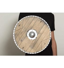 "18"" Replica Wood Knights Shield"