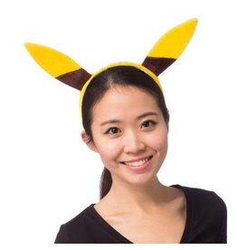 Phonefad Headband Yellow (Pikachu)