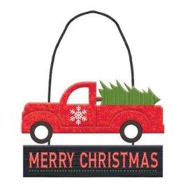 Vintage Christmas Mini Message Decoration
