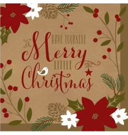 Merry Little Christmas Luncheon Napkins (36)