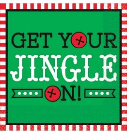 Get Your Jingle On Beverage Napkins (16)