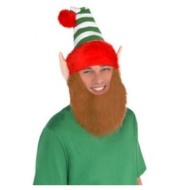 Elf Hat w/ Beard