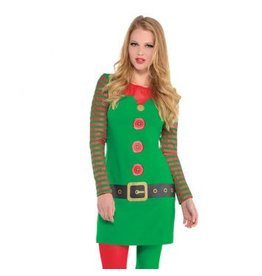Elf Long Sleeve Dress L/XL