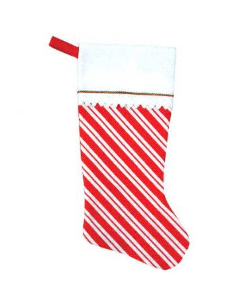 Candy Cane - Felt Stocking