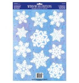 Snowflake Vinyl Window Decoration