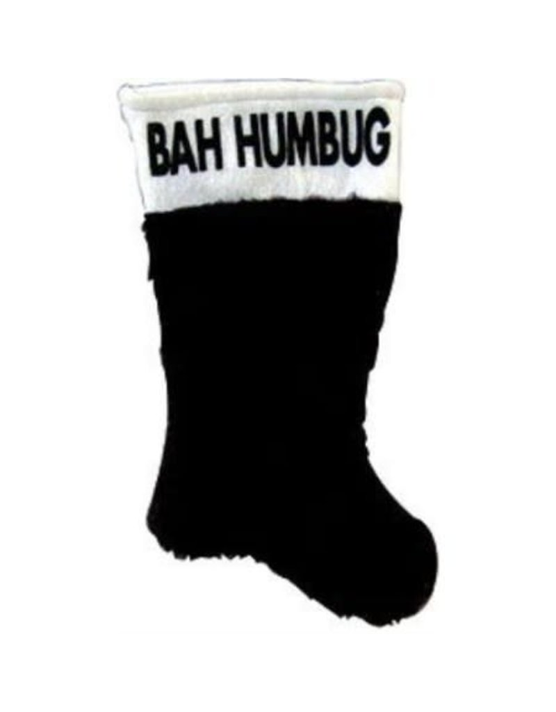 Bah Hum Bug Stocking