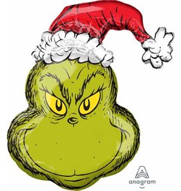 Grinch Mylar Balloon
