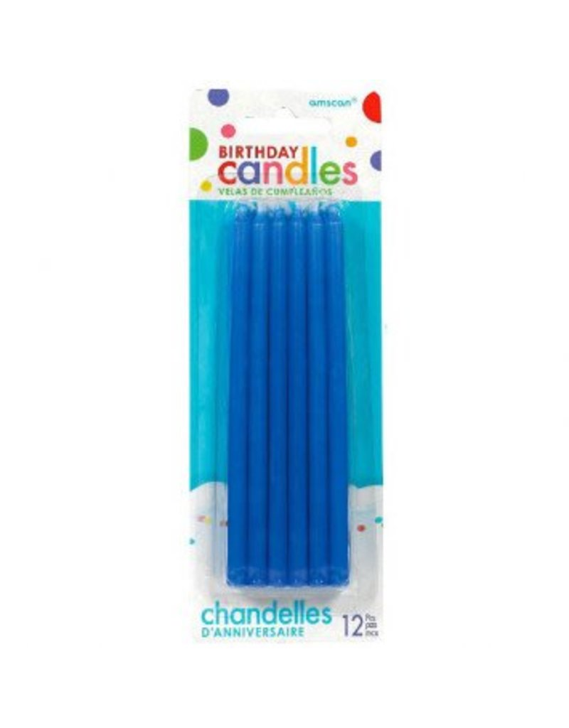 Taper Candles Blue