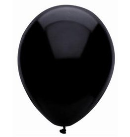"Funsational 11"" Crystal Black Balloons (50)"