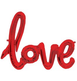 Love Script Air-filled Balloon Banner (Will Not Float)