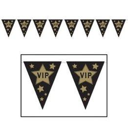 VIP Pennant Banner 12Ft