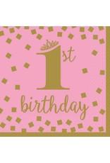 1st Birthday Girl Luncheon Napkins (16)