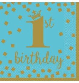 1st Birthday Boy Luncheon Napkins (16)
