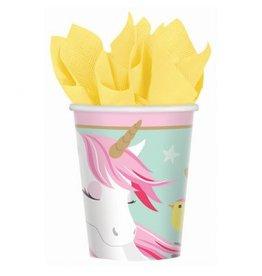 Magical Unicorn Cups 9 oz. (8)