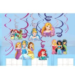 Disney Princess Dream Big Value Pack Swirl Decorations