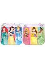 """Disney Princess Dream Big Square Plates 7"""" (8)"""
