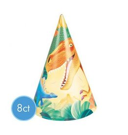 Prehistoric Dinosaurs Party Hats (8)
