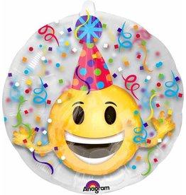 "Insider Emotion Party Hat 24"" Mylar Balloon"