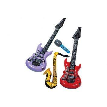 Jukebox Rock Inflatable Instrument Assortment (4)
