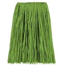 Adult Green Grass Hula Skirt