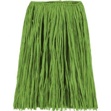 Adult Green Grass Hula Skirt