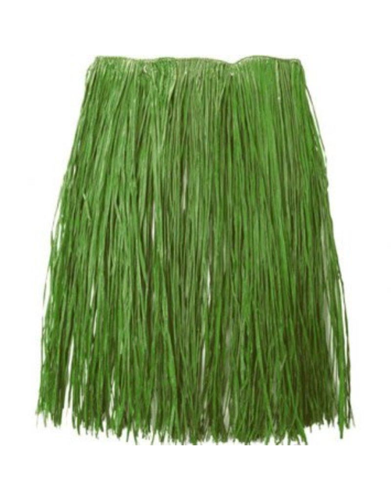 Adult XL Green Grass Hula Skirt