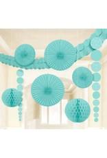 Damask Wedding Decorating Kit-Robin's Egg Blue