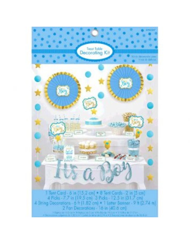 Boy Candy Buffet Decorating Kit